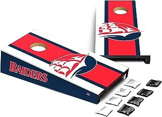 Victory Tailgate NCAA Desktop Cornhole Logo Stripe Design - All NCAA Teams Available