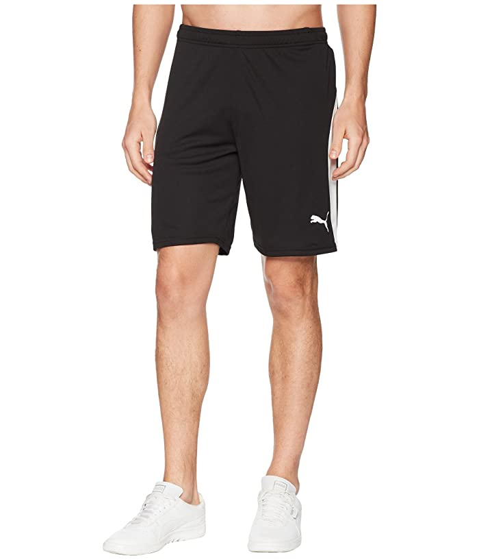 PUMA Liga Shorts (Puma Black/Puma White) Men