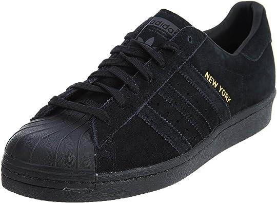 Amazon.com: adidas Men's Superstar 80s City Black B32737 (Size: 12 ...