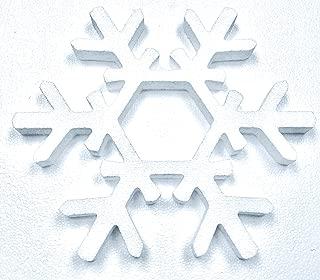 Snowflake, Pack of 2, Styrofoam 8