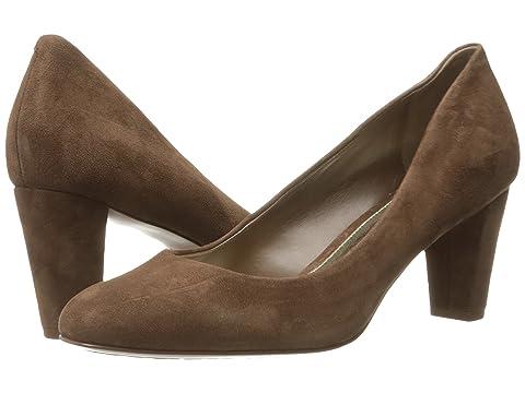 Cheap Sale Womens Career Shoes - Ralph Lauren Hala Claret Kid Suede