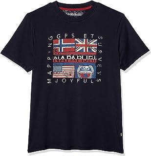 Sachu BLU Marine Camiseta para Hombre