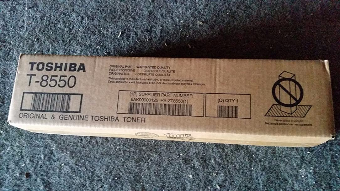 Toshiba T8550 ESTUDIO 555 Black Toner Yield 62,400