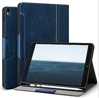 Antbox iPad Air3 ケース/iPad Pro 10.5 ケース アップルペン収納 高級ソフトPUレザー製 iPad 10.5 カバー オートスリープ&スタンド機能付き 手帳型 ひび割れ防止 全面保護 10.5インチタブレットスマー...