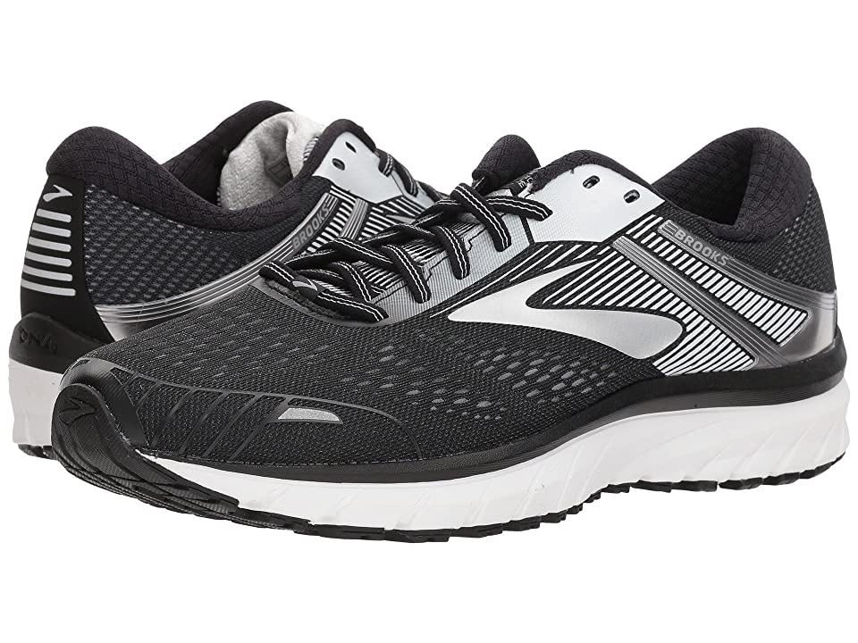 ee69cdaa99de2 Brooks Adrenaline GTS 18 (Black Silver) Men