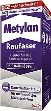 Metylan Raufaser, sterke behanglijm voor structuurbehang met hoge beginkleefkracht, duurzame & corrigeerbare lijm met meth...