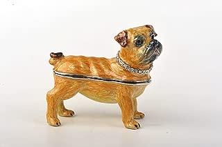 Faberge Style Dog Trinket Box