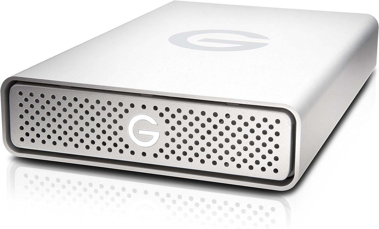 G-Technology 14TB G-DRIVE USB 3.0 Desktop External Hard Drive, Silver - Compact, High-Performance Storage - 0G10506-1: Computers & Accessories