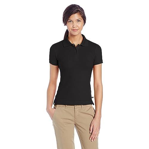 06c7871b2e1 Lee Uniforms Juniors  Stretch Pique Polo Shirt