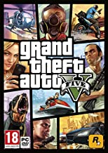 Grand Theft Auto Five-V (PC DVD)