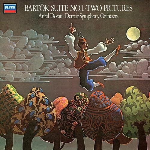 Bartók: Suite No.1; Two Pictures de Antal Doráti and Detroit ...