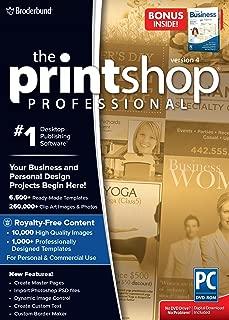 Encore the Print Shop Pro 4 with Bonus Easy Business Imprints