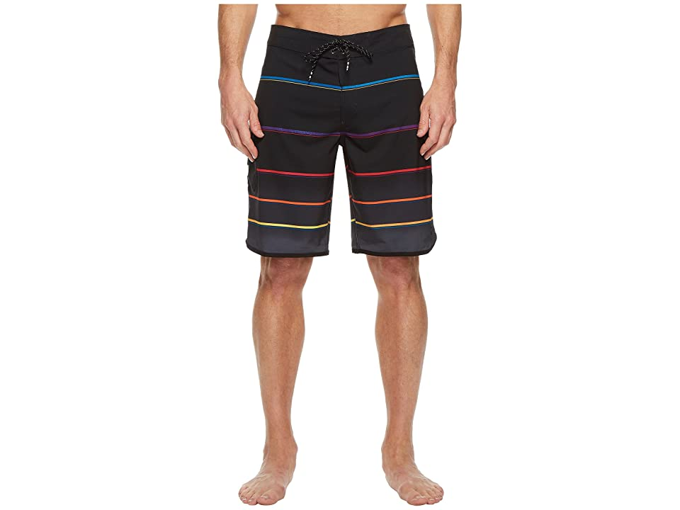 Billabong 73 X Stripe Boardshorts (Black) Men