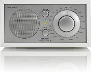 Tivoli Audio M1BTWHT Model One BT- Bluetooth AM/FM Radio (White/Silver)
