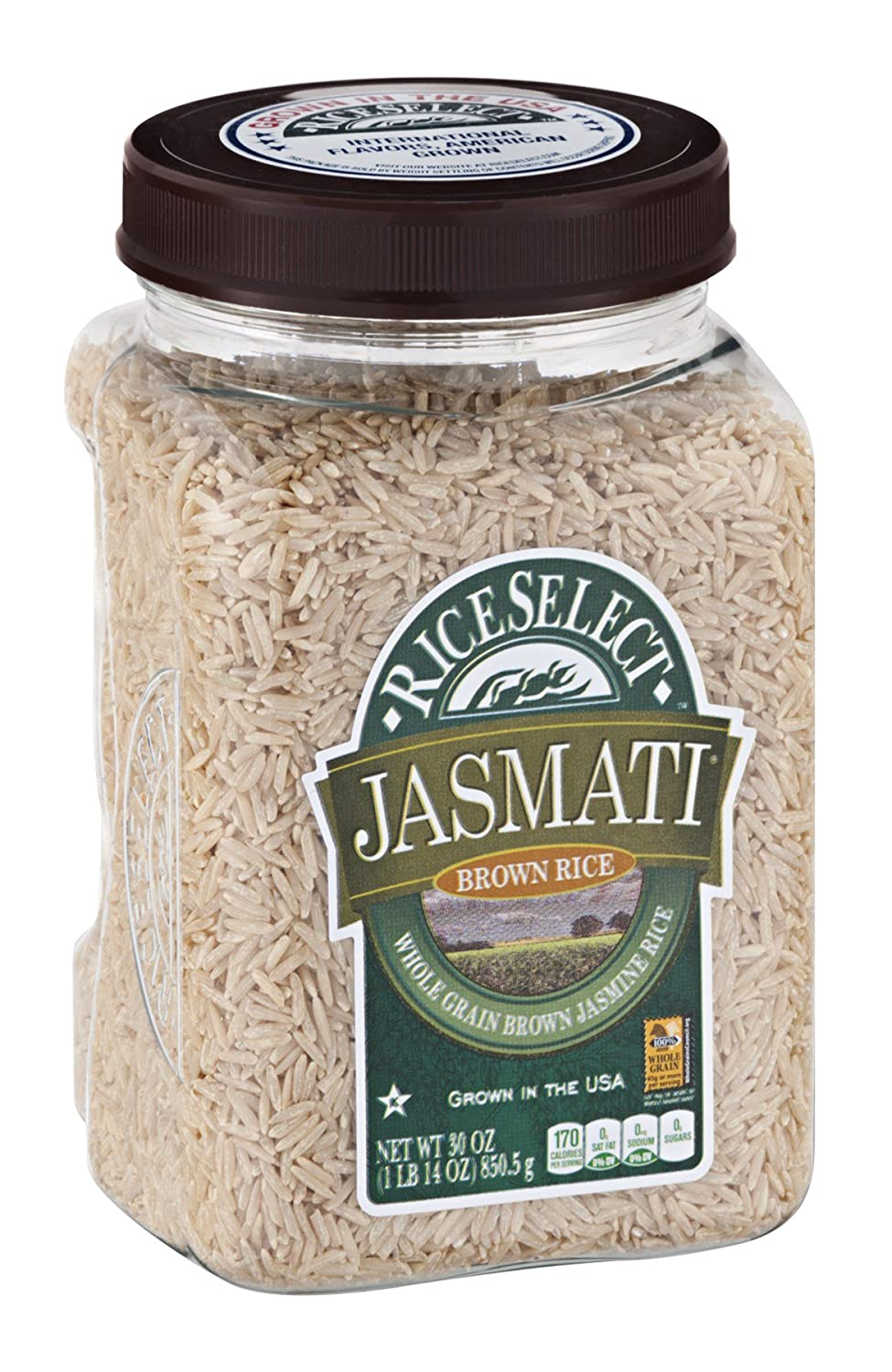 Indianapolis Mall RICESELECT Limited time trial price RICE JASMATI 30 BROWN OZ