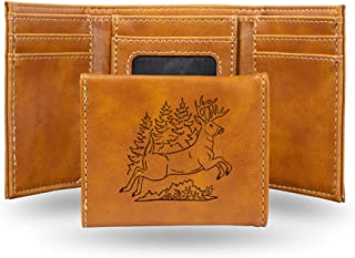 Rico Laser Engraved Trifold Wallet