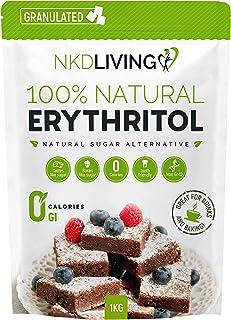 Eritritol 100 % natural 1 kg | Sustituto del azúcar con