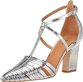 حذاء Saira للسيدات من Franco Sarto فضي، 8