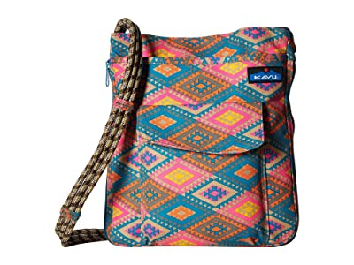 KAVU Sidewinder (Rhombus Rug) Cross Body Handbags