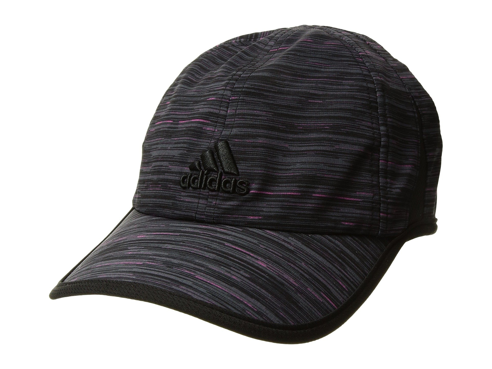 6bba52f3c25 Adidas Originals Adizero Extra Cap In Intense Pink Space Dye Print Black