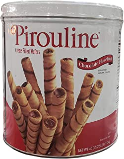 Pirouline Crème Filled Wafers Chocolate Hazelnut, 40 oz