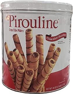 Pirouline Crème Filled Wafers Chocolate Hazelnut, 40 oz
