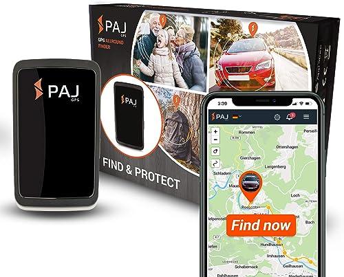 PAJ GPS Allround Finder 2020 GPS - Localizzatore gps per auto, moto, anziani, bambini e molto più - Gps tracker in te...