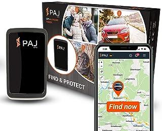 PAJ GPS Allround Finder Versión 2020 Localizador GPS - Rastreador en Directo para Personas, Coches - 20 días de duración de batería (60 días en Modo de Espera)