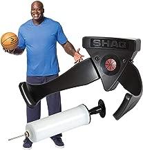 Sportcraft Shaq Basketball Ball Claw + Hand Air Ball Pump Inflator Combo Kit, Wall Mount Suitable for Soccer, Volleyball, Football Ball Holder Shelf Black