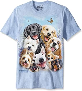 The Mountain Men's Dog Selfie T-Shirt