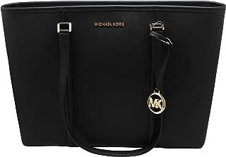 Michael Kors Large Sady Carryall Shoulder Bag (Black)