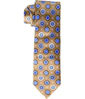 Canali - Woven Jacquard Large Medallion Tie