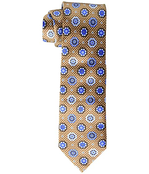 Canali Woven Jacquard Large Medallion Tie