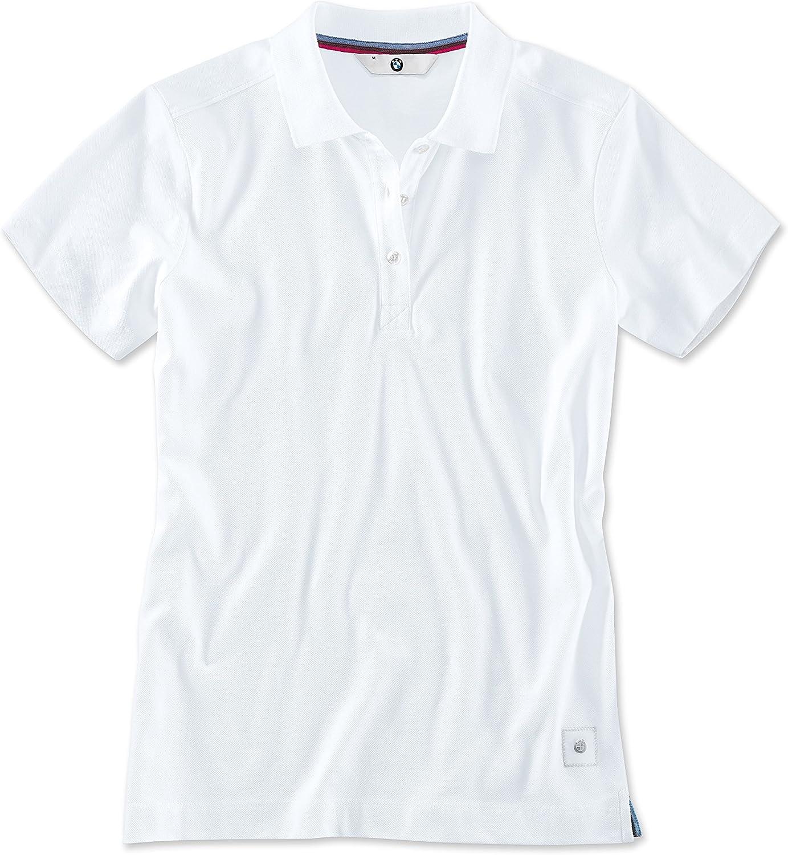 BMW Ladies Polo Shirt White