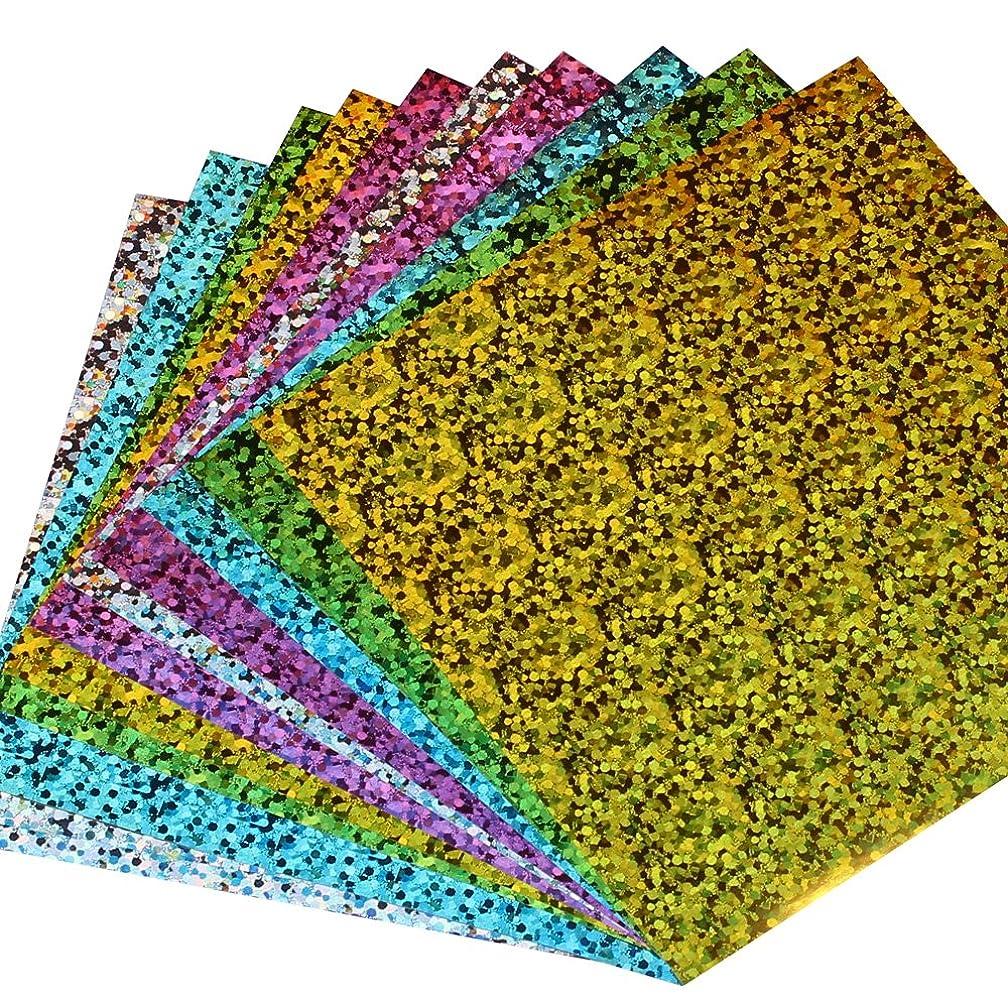 30 Sheets Shiny Hologram Origami Paper Single side