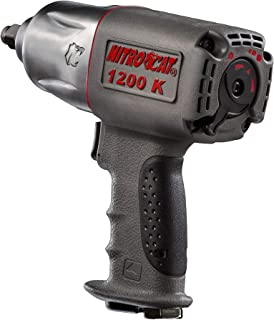 NitroCat 1200-K 1/2-Inch Kevlar Composite Air Impact Wrench With Twin Clutch Mechanism