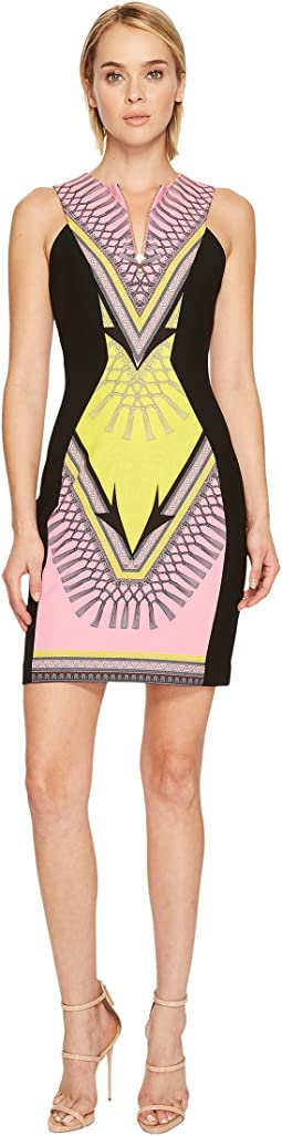 Versace Collection - Stampa Sleeveless Dress