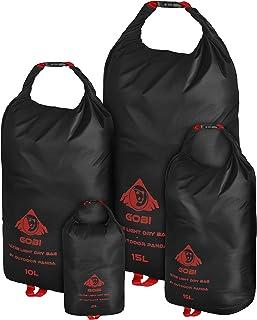 Outdoor Panda Dry Bag Ultralight - 2L 5L 10L 15L - Einzeln oder Set - Wasserdichter Packsack für Wandern, Radfahren, Kajak