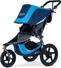 BOB Gear Revolution Flex 3.0 Jogging Stroller - Up to 75 pounds - UPF 50+ Canopy - Adjustable Handlebar - Easy Fold, Glacier Blue