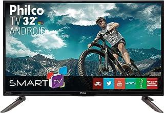 "Smart TV Backlight D-LED 32"", Philco TV PH32C10DSGWA, Preto"