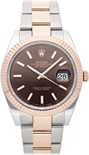 Rolex Datejust Mechanical (Automatic) Brown Dial Mens Watch 126331 (Certified Pre-Owned)