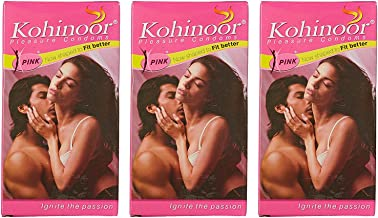 Kohinoor Condoms For Emn - Pink 10S (Pack Of 3)