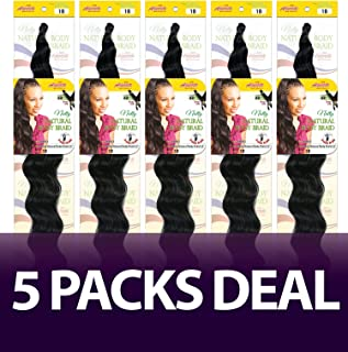 [5 Packs Deal] Amour Collection Natty Natural Body Braid 22