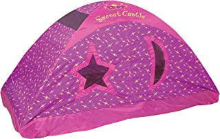 Pacific Play Tents 19721 Kids Secret Castle Bed Tent Playhouse - For Full Size Mattress