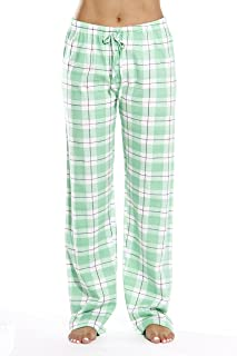9a486cfc25 Just Love 100% Cotton Jersey Women Plaid Pajama Pants Sleepwear