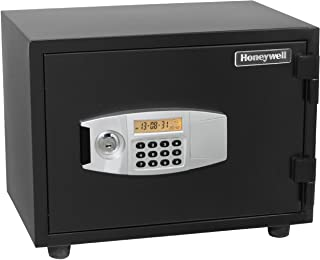 Honeywell Safes & Door Locks - 2113 Steel Fireproof and Water Resistant Security Safe with Dual Digital Lock and Key Prote...