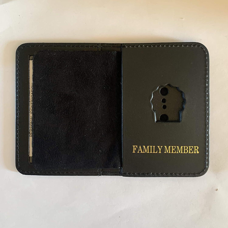 New York CITY DETECTIVE FAMILY MEMBER COURTESY MINI SHIELD AND ID WALLET