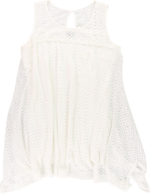 Robbie Bee Womens Textured Sleeveless Shift Dress