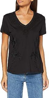 Desigual TS_rodas T-Shirt Donna