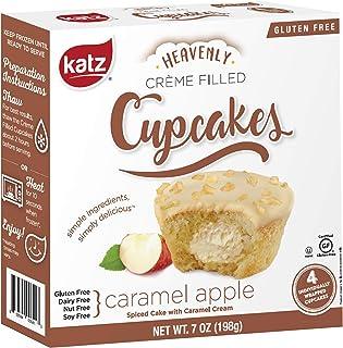 Katz Gluten Free Caramel Apple Crème Filled Cupcakes | Dairy Free, Nut Free, Soy Free, Gluten Free | Kosher (6 Packs of 4 ...
